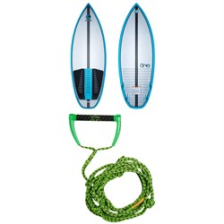 Connelly Ono Wakesurf Board 2021 + Proline x evo LGS 25 ft Surf Rope