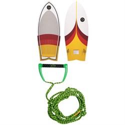 Connelly Cuda Wakesurf Board 2020 + Proline x evo LGS 25 ft Surf Rope