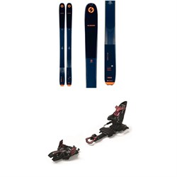 Blizzard Zero G 105 Skis ​+ Marker Kingpin 10 Alpine Touring Ski Bindings 2022