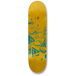 Uma Landsleds Taped Evan 8.5 Skateboard Deck