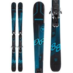 Rossignol Experience 88 Ti Skis + Salomon Warden MNC 13 Demo Bindings 2021 - Used