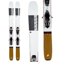 K2 Mindbender 108Ti Skis + Marker Griffon 13 TCX Demo Bindings 2021 - Used