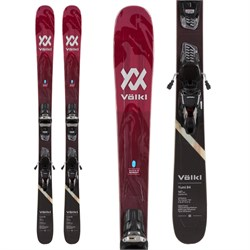 Volkl Yumi 84 Skis + Marker Squire 11 TCX Demo Bindings - Women's  - Used