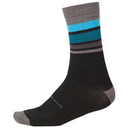 Endura BaaBaa Merino Stripe Bike Socks