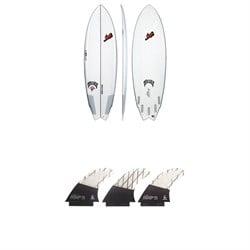 Lib Tech x Lost Round Nose Fish Surfboard + Tri Medium Fin Set