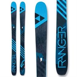 Fischer Ranger 102 Skis + Salomon Warden MNC 13 Demo Bindings  - Used
