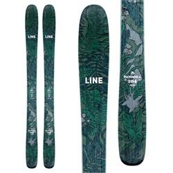 Line Skis Pandora 104 Skis + Salomon Warden MNC 11 Demo Bindings - Women's  - Used