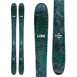Line Skis Pandora 110 Skis ​+ Atomic Warden MNC 11 Demo Bindings - Women's  - Used