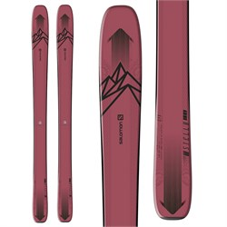 Salomon QST Stella 106 Skis + Warden MNC 11 Demo Bindings - Women's  - Used