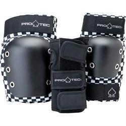 Pro-Tec Street Gear Junior Open Back Skateboard Pads 3-Pack - Big Kids'
