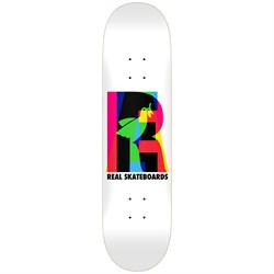 Real Eclipsing White 8.25 Skateboard Deck
