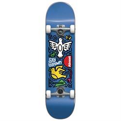 Almost Skateistan Sky Doodle FP Blue 7.5 Skateboard Complete