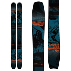 Moment Wildcat Tour 108 Skis + Shift MNC 13 Bindings + Black Diamond Ascension STS Skins  - Used