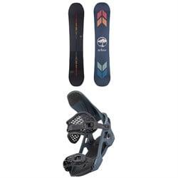 Arbor Formula Camber Snowboard + Spruce Snowboard Bindings 2022