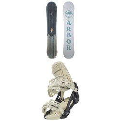 Arbor Ethos Snowboard + Acacia Snowboard Bindings - Women's 2022