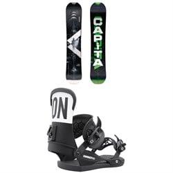 CAPiTA Pathfinder Camber Snowboard + Union Contact Pro Snowboard Bindings 2022