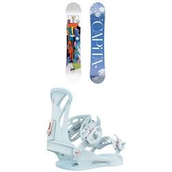 CAPiTA Paradise Snowboard + Union Juliet Snowboard Bindings - Women's 2022