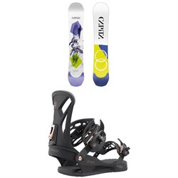 CAPiTA Birds of a Feather Snowboard ​+ Union Juliet Snowboard Bindings - Women's 2022