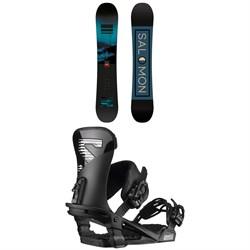 Salomon Pulse Snowboard + Trigger Snowboard Bindings