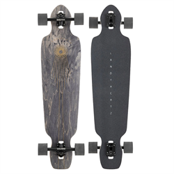 Landyachtz Battle Axe Black Space Rock Longboard Complete