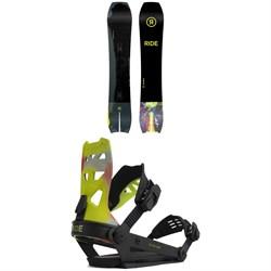 Ride MTNpig Snowboard + A-8 Snowboard Bindings 2022