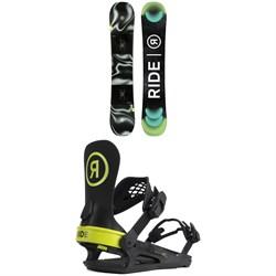 Ride Agenda Snowboard + C-2 Snowboard Bindings 2022