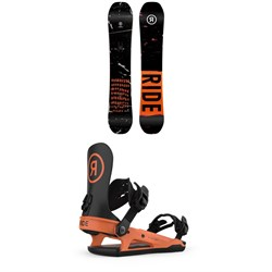 Ride Manic Snowboard + C-2 Snowboard Bindings 2022