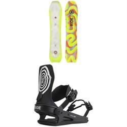 Ride Psychocandy Snowboard + C-6 Snowboard Bindings 2022