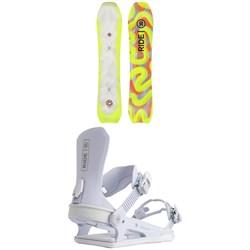 Ride Psychocandy Snowboard + CL-6 Snowboard Bindings - Women's 2022