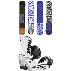 Salomon Assassin Snowboard + District Snowboard Bindings 2022