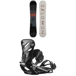 Salomon Pulse Snowboard + Rhythm Snowboard Bindings 2022