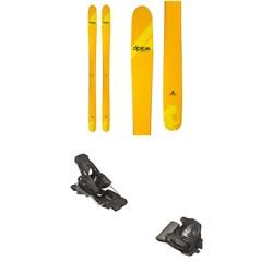 DPS Wailer A100 RP Skis + Tyrolia Attack² 13 GW Bindings 2021
