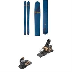 DPS Wailer A110 C2 Skis + Salomon Warden MNC 13 Ski Bindings 2021