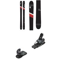 Faction Candide 2.0 Skis + Salomon Warden MNC 13 Ski Bindings 2021