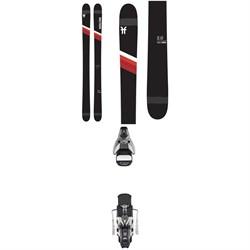 Faction Candide 2.0 Skis + Atomic STH2 WTR 16 Ski Bindings 2021