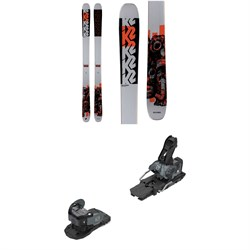 K2 Reckoner 102 Skis ​+ Salomon Warden MNC 13 Ski Bindings 2021