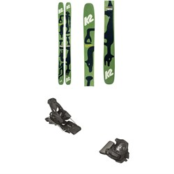 K2 x Geoff McFetridge Reckoner 112 Skis ​+ Tyrolia Attack² 13 GW Bindings 2021