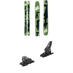 K2 x Geoff McFetridge Reckoner 112 Skis 2021 + Marker Griffon 13 ID Ski Bindings