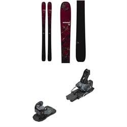 Rossignol Black Ops Escaper Skis + Salomon Warden MNC 13 Ski Bindings 2021