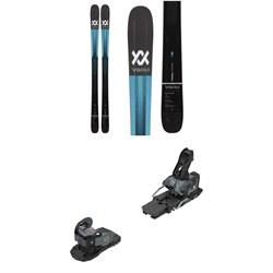 Volkl Kendo 88 Skis + Salomon Warden MNC 13 Ski Bindings 2021