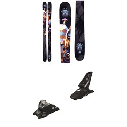 Armada ARW 86 Skis - Women's ​+ Marker Squire 11 ID Ski Bindings 2021