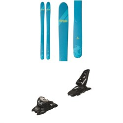 DPS Yvette A100 RP Skis - Women's + Marker Squire 11 ID Ski Bindings 2021