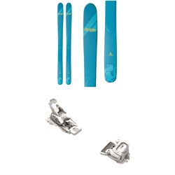 DPS Yvette A100 RP Skis - Women's + Tyrolia Attack² 12 GW Bindings 2021