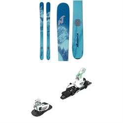 Nordica Santa Ana 88 Skis - Women's + Atomic Warden MNC 11 Ski Bindings 2021