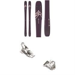 Salomon QST Lumen 99 Skis - Women's + Tyrolia Attack² 12 GW Bindings 2021