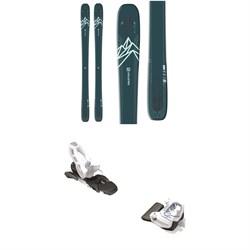 Salomon QST Lux 92 Skis - Women's + Tyrolia Attack² 11 GW Bindings 2021