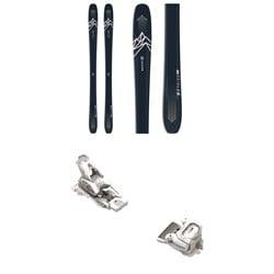 Salomon QST Myriad 85 Skis - Women's + Tyrolia Attack² 12 GW Bindings 2021