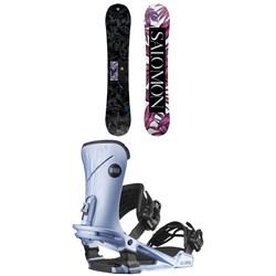 Salomon Wonder Snowboard + Nova Snowboard Bindings - Women's