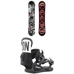 CAPiTA Scott Stevens Pro Snowboard ​+ Union Contact Pro Snowboard Bindings 2022