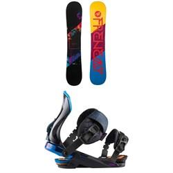 Rossignol Frenemy Snowboard + Diva Snowboard Bindings - Women's 2021